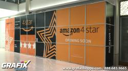 Amazon Wall wrap at Mall of America, Coming Soon