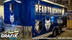 Bookmobile Trailer