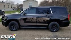 Burke County Sheriff ND Stealth Tahoe Graphics