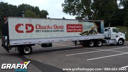 Chuck and Dons Trailer Wrap