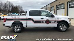 Eagan Fire Rescue One truck graphics