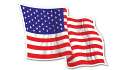 American Flag Vehicle Graphic / Car Decal
