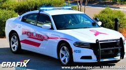Gulfport PD Breast Cancer Awareness Dodge Charger Graphics