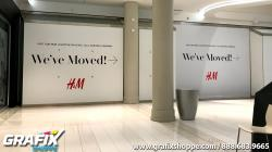 H&M Moved Wall Graphics
