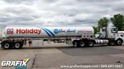 Holiday Tank Trailer Graphics