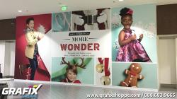 Large Scale Retail Wall Graphics at MOA 2