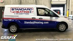 Standard Heating Transit Connect Graphic Wrap