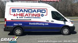 Standard Heating Transit High Top Graphic Wrap