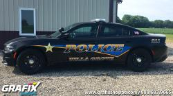 Villa Grove PD Charger Graphics