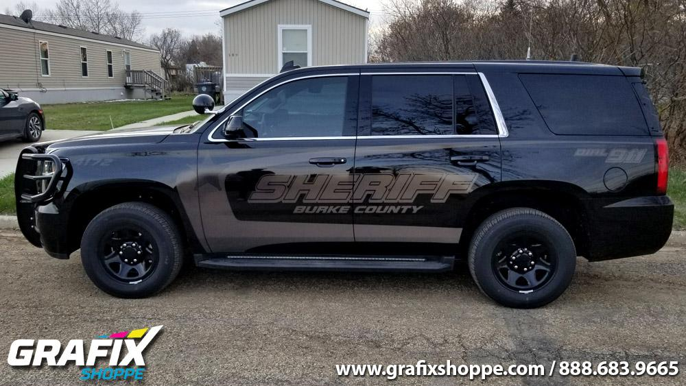 Stealth Vehicle Wraps Stealth Design Police Car Graphics