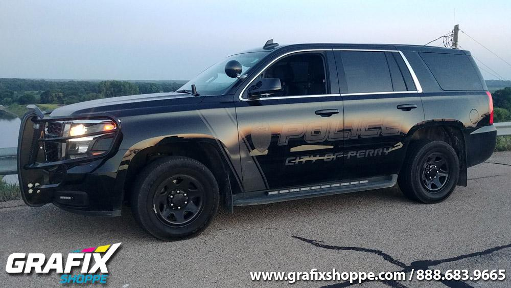 Stealth Vehicle Wraps | Stealth Design Police Car Graphics ...
